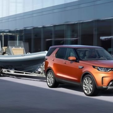2017 Land Rover Discovery Towing Capabilities