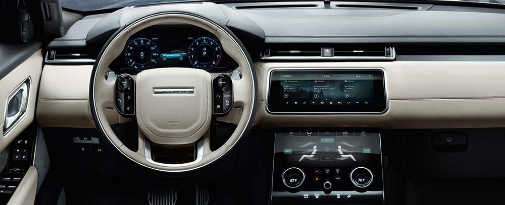 2018 Land Rover Range Rover Velar Interior Technology Dashboard