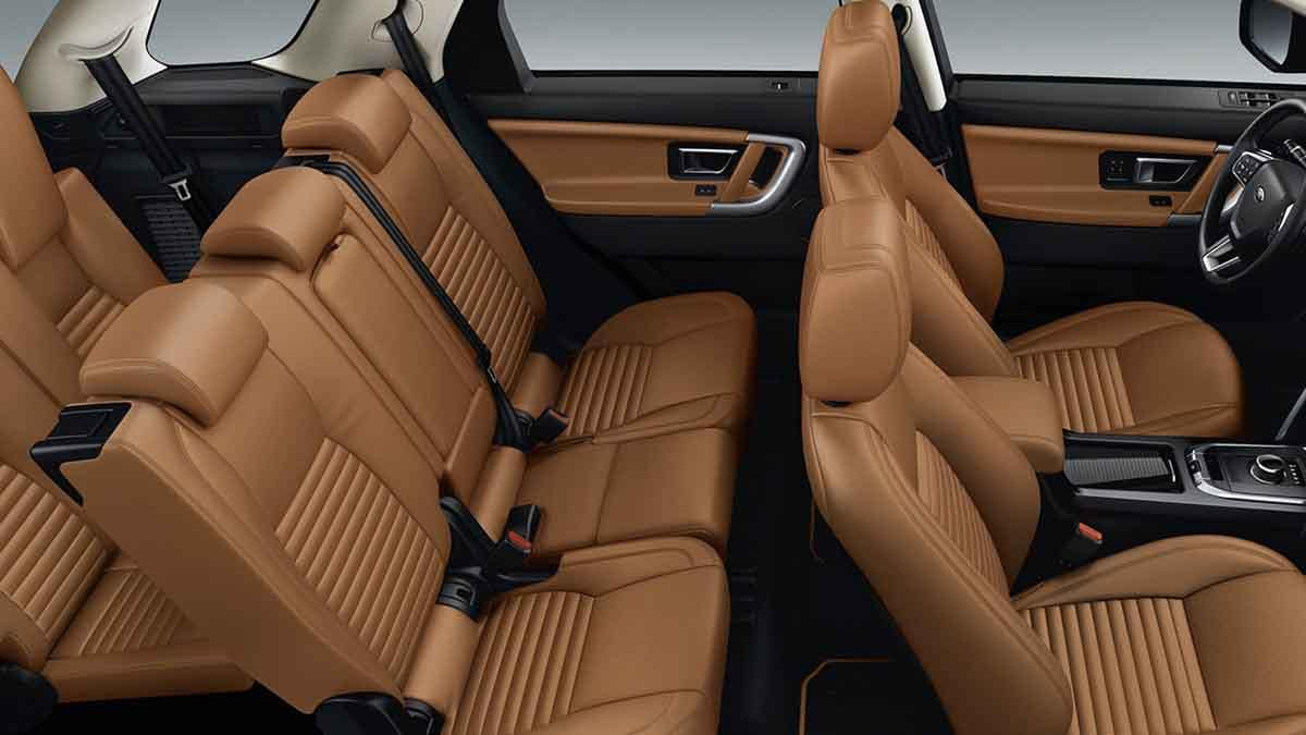 2018 Land Rover Discovery Sport interior seating