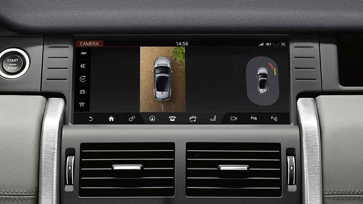 2018 Land Rover Discovery Sport interior technology featrues