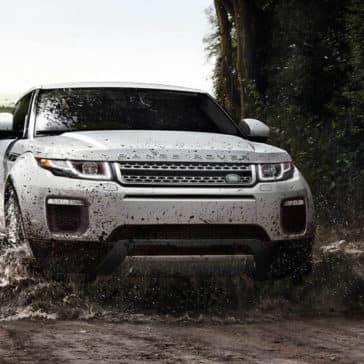 2018 Land Rover Range Rover Evoque off roading