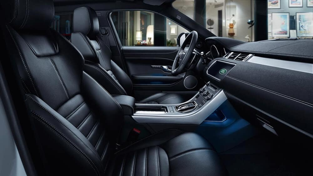 2018 Land Rover Range Rover Evoque interior features