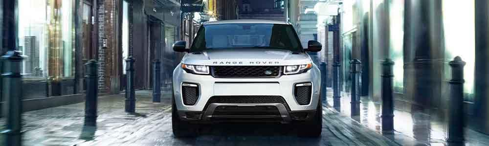 2018 Land Rover Range Rover Evoque Front End driving