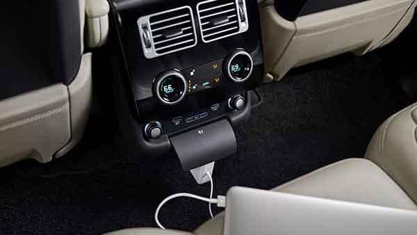 2018 Land Rover Range Rover Interior Features