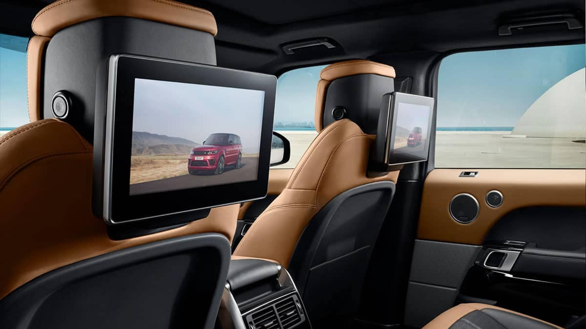 2019 Land Rover Range Rover Sport Rear Entertainment System
