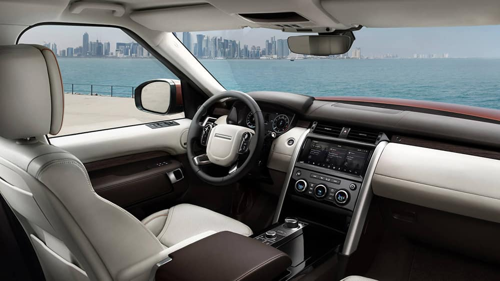 2019 Land Rover Discovery Interior Front Seating and Dashboard