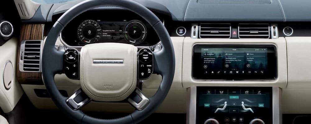 2019 range rover hybrid dashboard