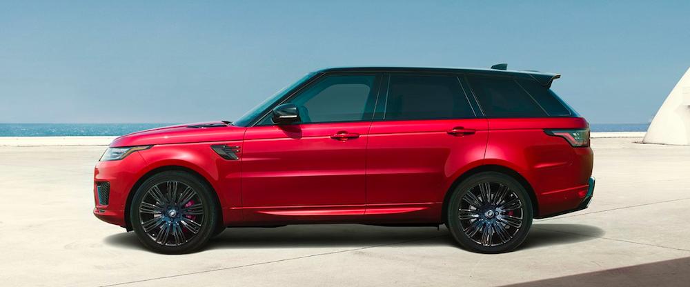 2019 range rover sport red exterior