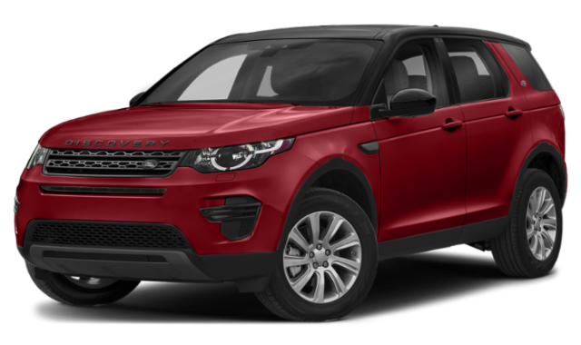 2019 land rover discovery sport red exterior model