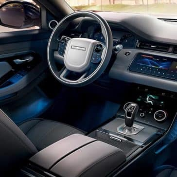 2020 Range Rover Evoque Dash