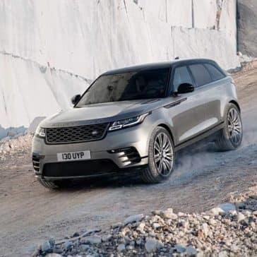 2020 Range Rover Velar Driving Downhill