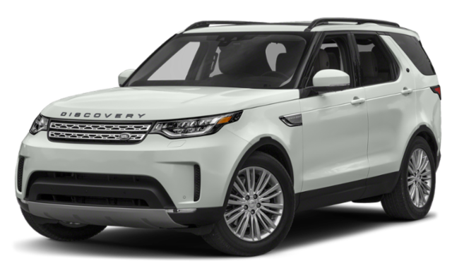 2020 land rover discovery white exterior