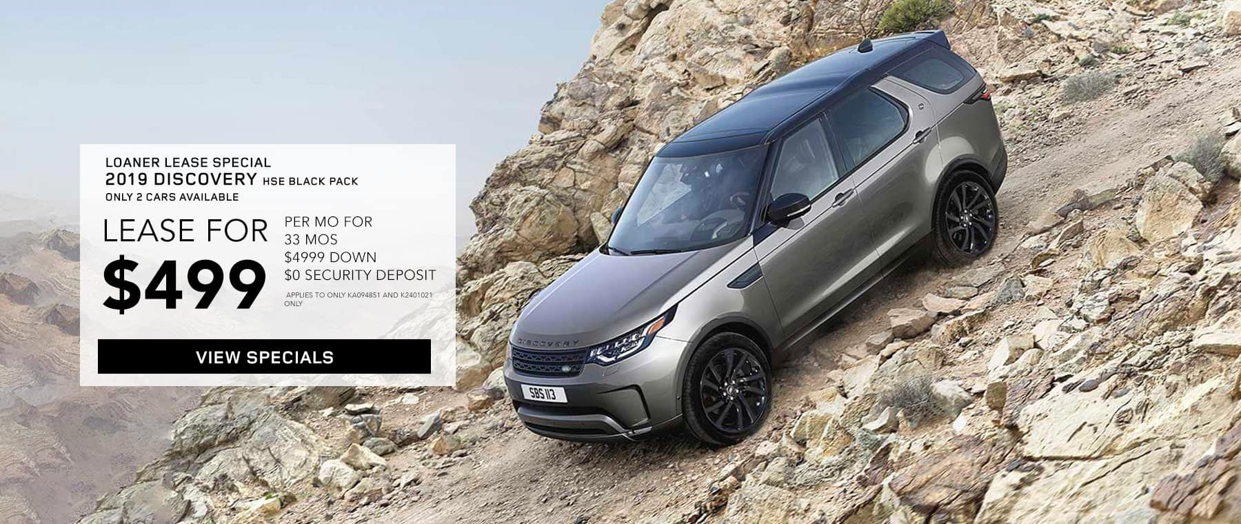2019 Land Rover Discovery HSE Black Pack