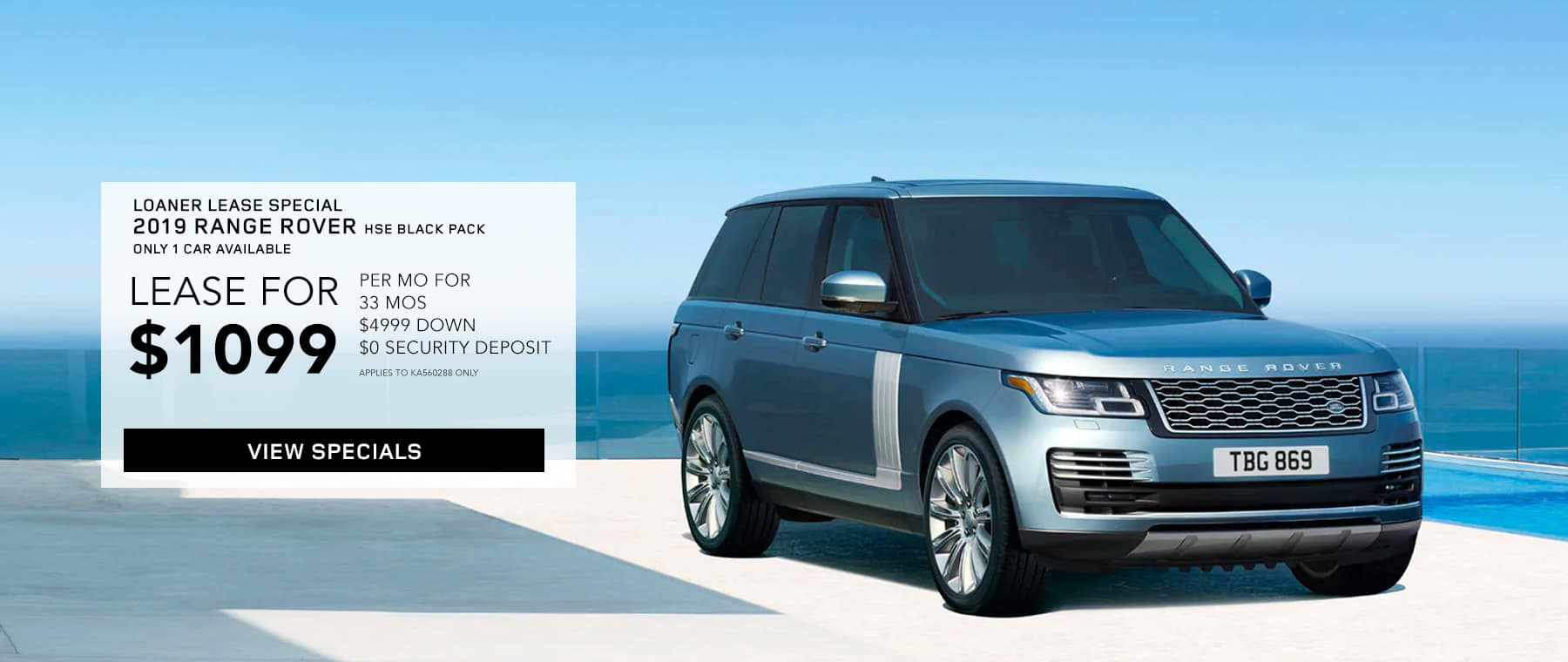 2019 Range Rover HSE with Black Pack