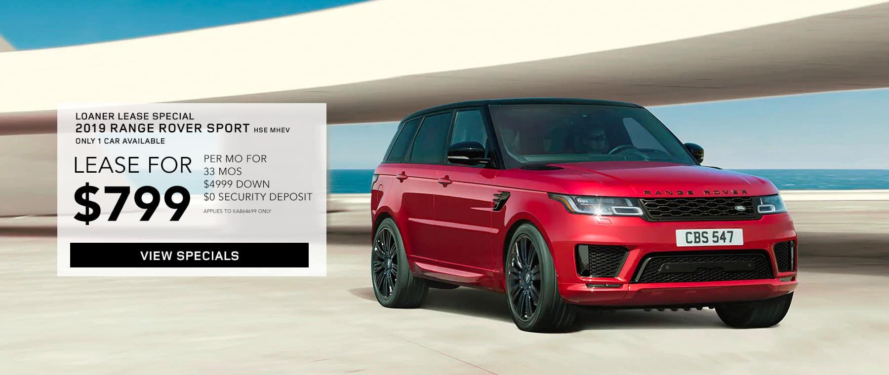 2019 Range Rover Sport HSE MHEV