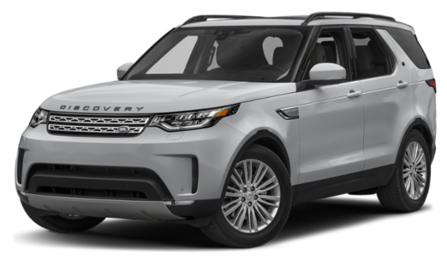 2020 Land Rover Discovery grey