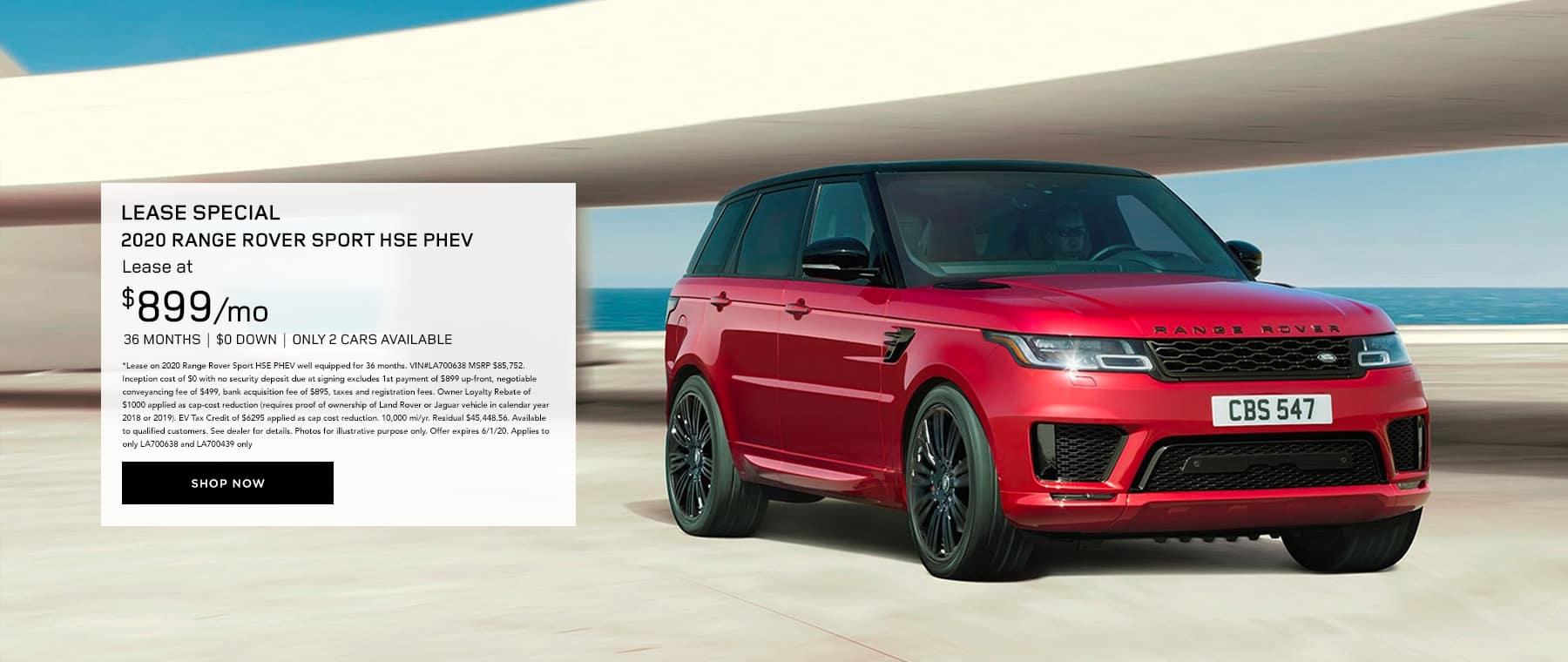 Range Rover Sport Lease