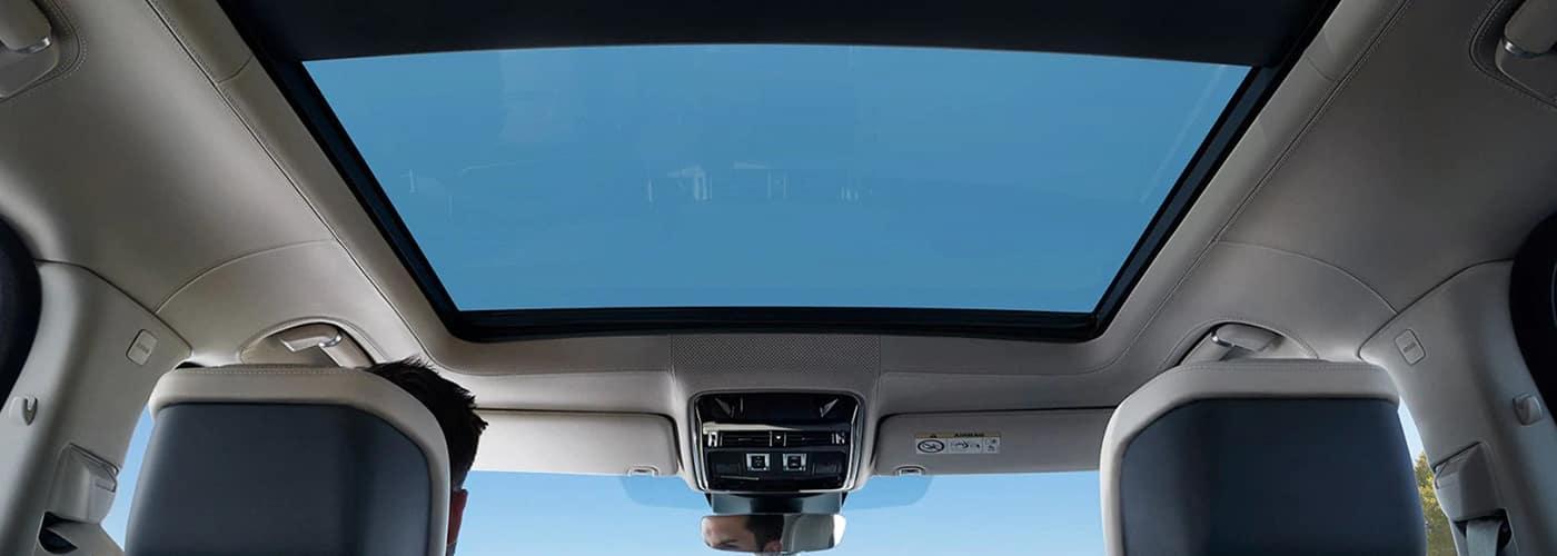 Range Rover sunroof