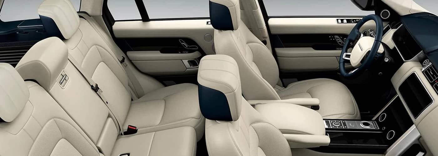 2020 Range Rover seating