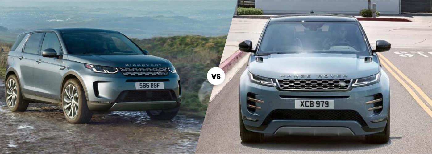 land rover discovery sport vs evoque