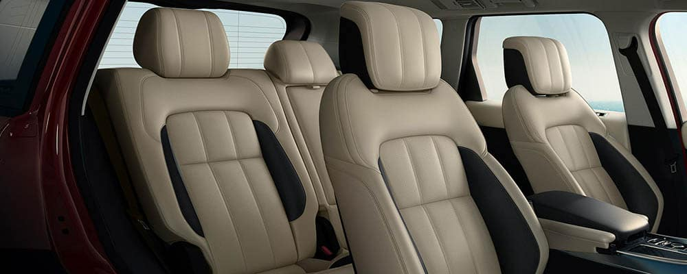 2021 Range Rover Interior