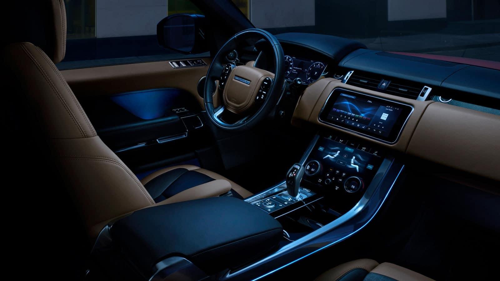 2021 range rover sport interior 2