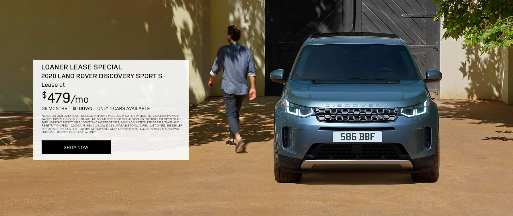 2020 LR Discovery Sport S