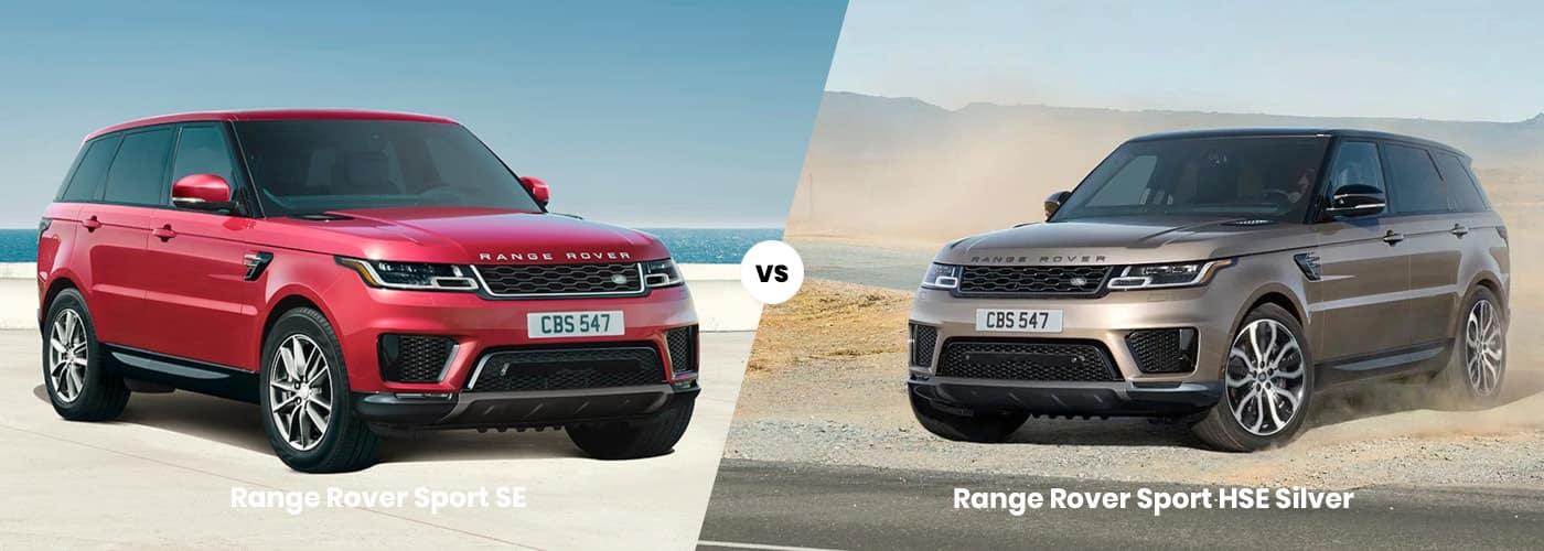 range rover sport se vs hse