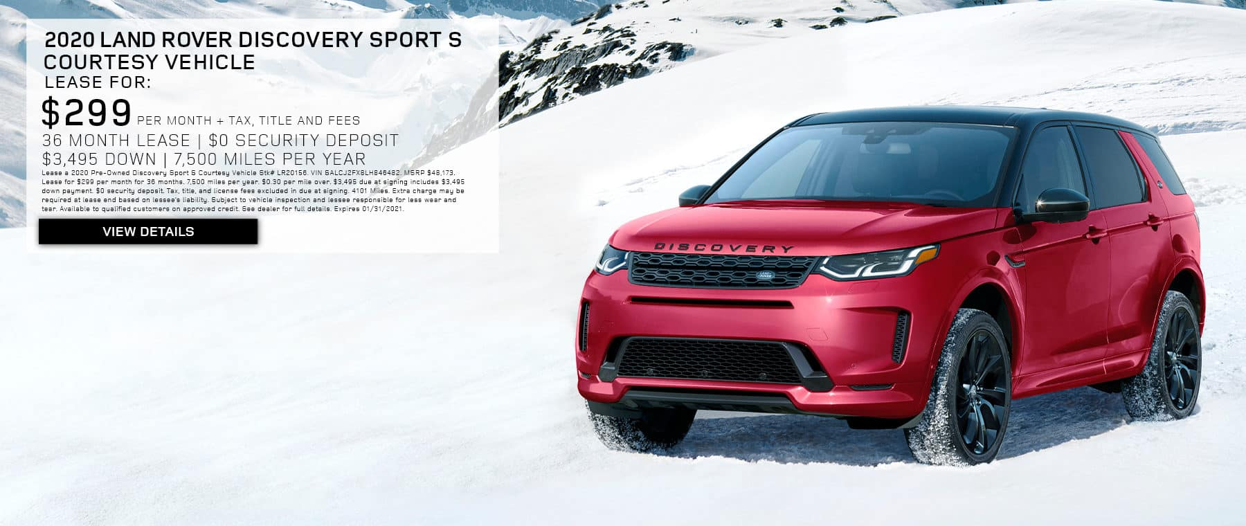 Disco Sport LEASE BANNER 1 NEW FORMAT