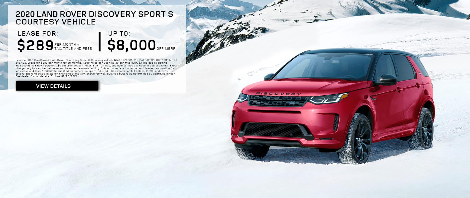 LAND ROVER COURTESY DUAL OFFER FEBRUARY LEASE BANNER 2