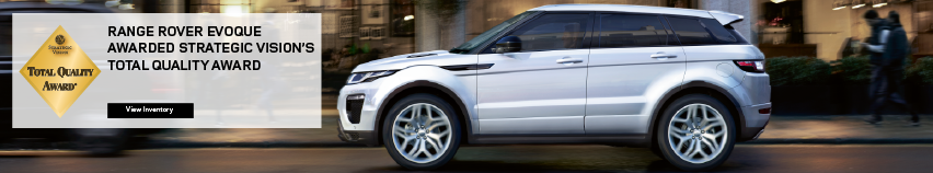 Range Rover Evoque Total Quality Award