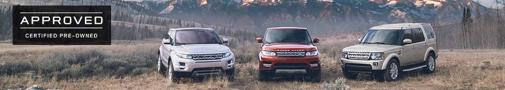Land Rover Approved Certified Pre-Owned