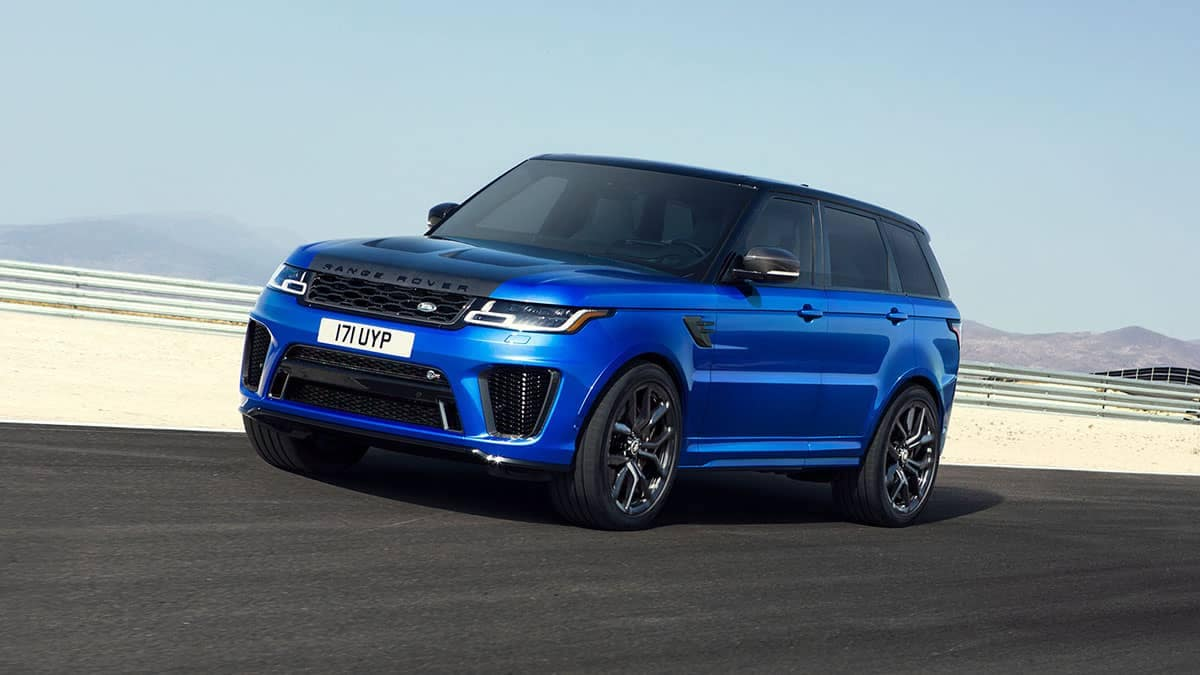 2020 Land Rover Range Rover Sport Driving