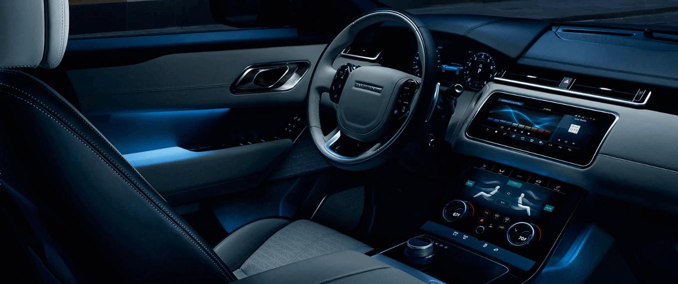 range rover velar interior front seats