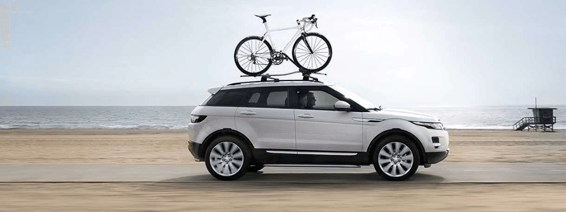 Land Rover Discovery with Bike Rack Accessories