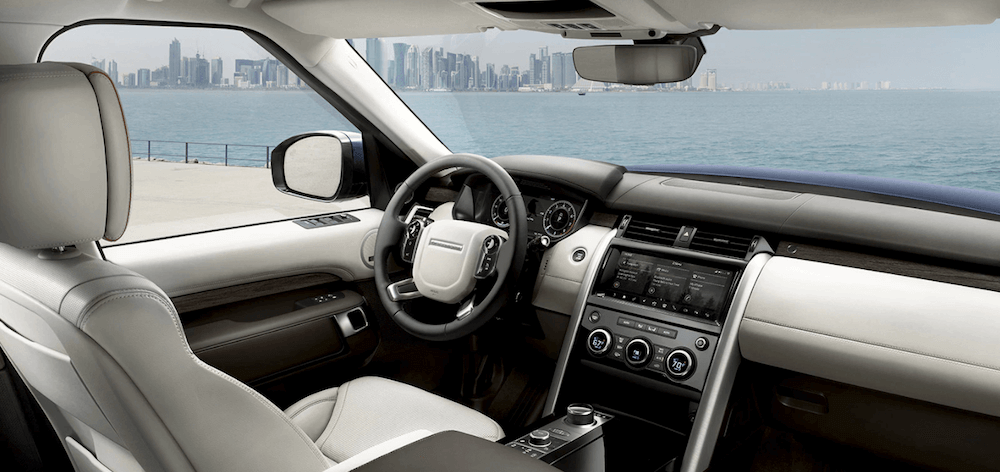 2020 Land Rover Discovery interior