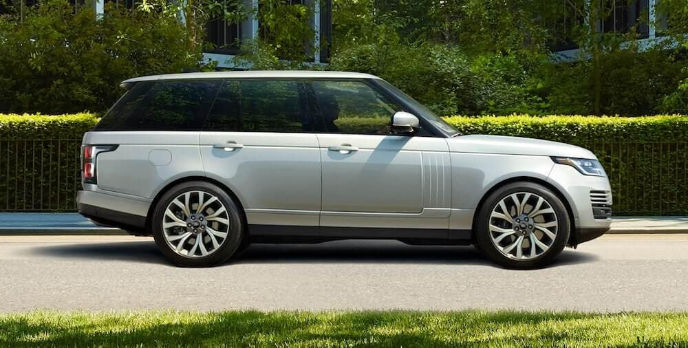 2020 Range Rover parked in driveway