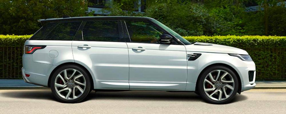 White 2020 Range Rover Sport