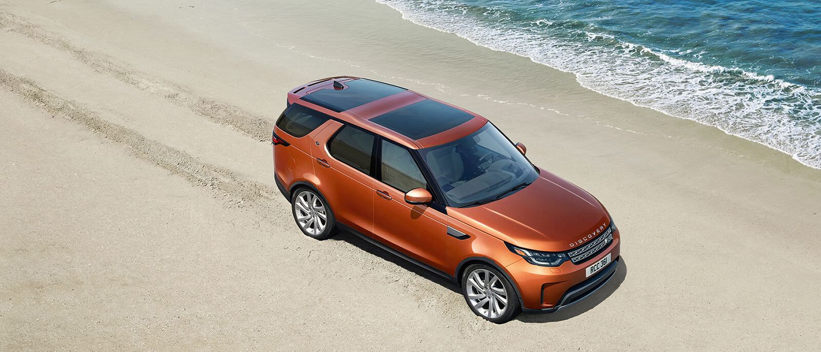 2017 Land Rover Discovery Beach