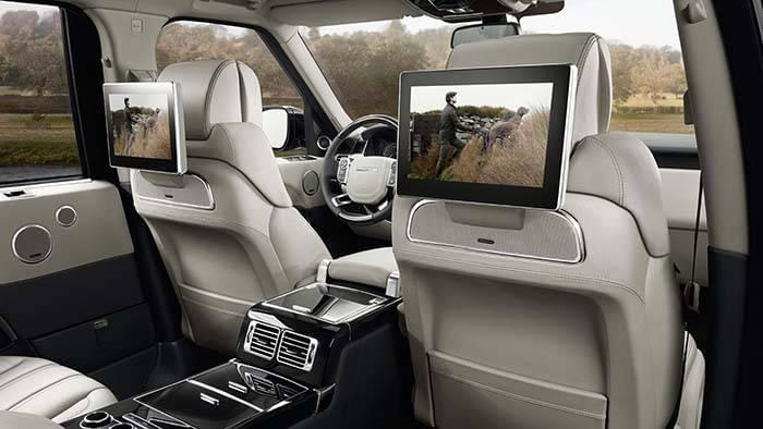 Land Rover Range Rover Interior Rear Entertainment