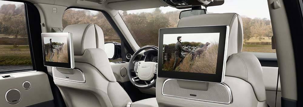 Land Rover Range Rover Rear Entertainment
