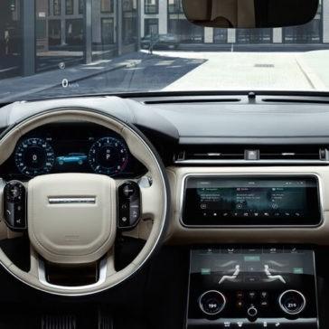 2018 Range Rover Velar Interior
