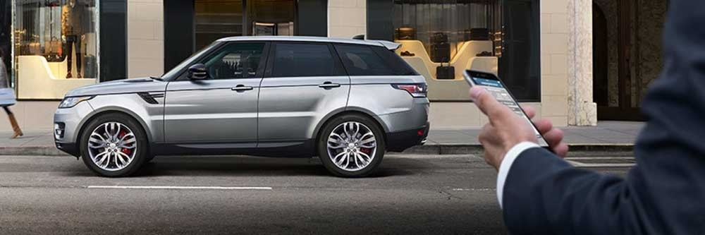 2017 Land Rover Range Rover Sport Incontrol Touch Pro