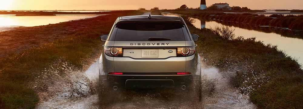 Land Rover Discovery Sport Driving in Desert