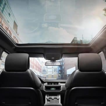 2018 Land Rover Range Rover Evoque panoramic roof