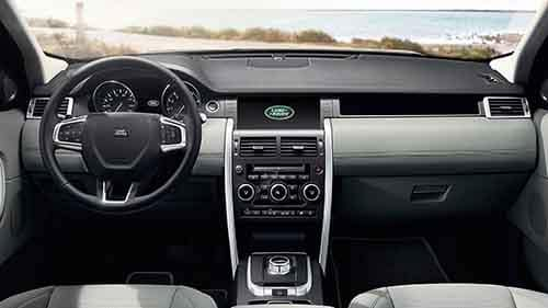 2018 Land Rover Discovery Sport Dashboard