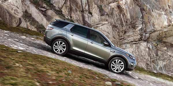 2018 Land Rover Discovery Sport Hill Descent