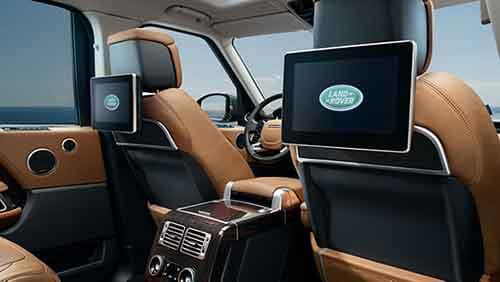 2018 Land Rover Range Rover Rear Entertainment System