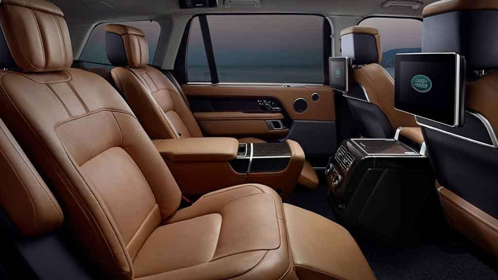 2018 Land Rover Range Rover Rear Seating
