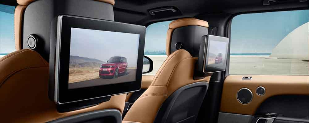 2018 Range Rover Sport Interior Seating Features